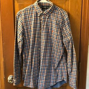 Heavy Ralph Lauren plaid button down